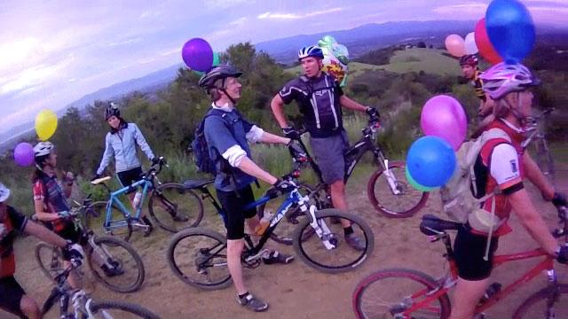Rick's Birthday Ride, Fremont Older –April 2011