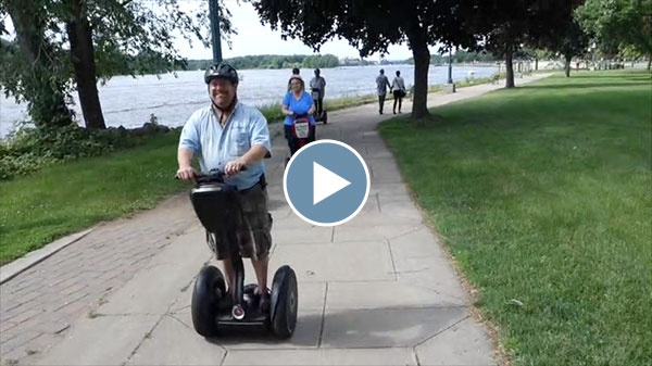 Riding the Segway – June 2015