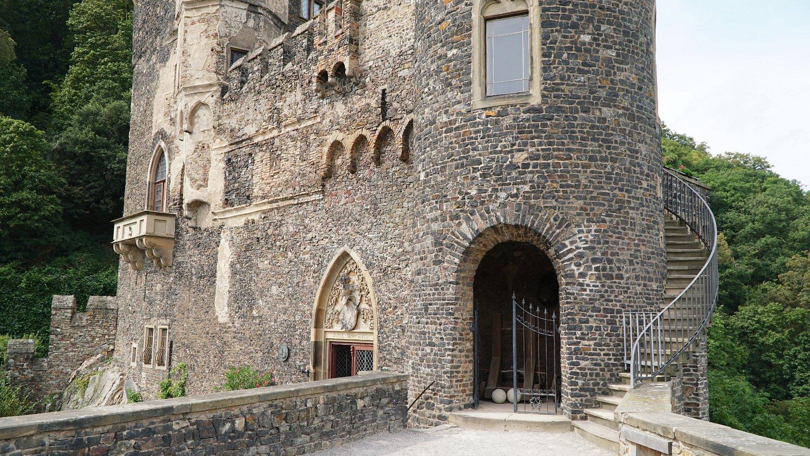 Visiting Rheinstein Castle on the Rhine River