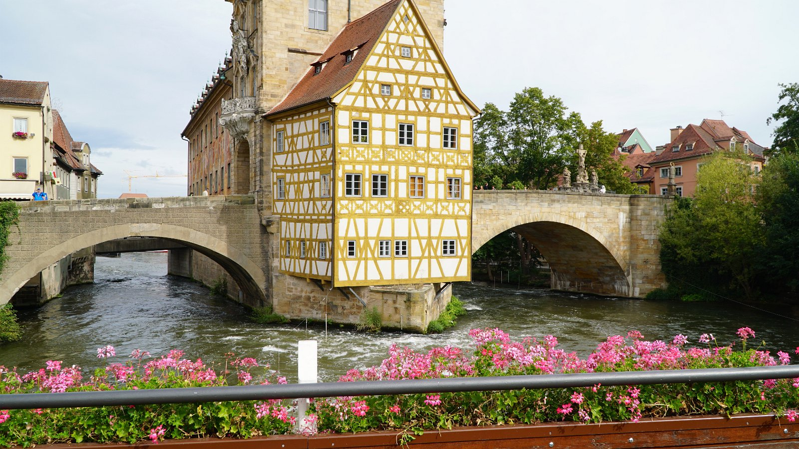 Walking around Bamberg