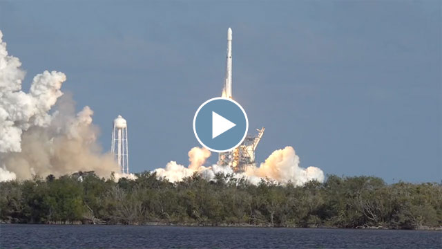 Falcon Heavy Launch – February 2018