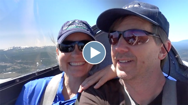 Soaring over Tahoe in a Glider – June 2019