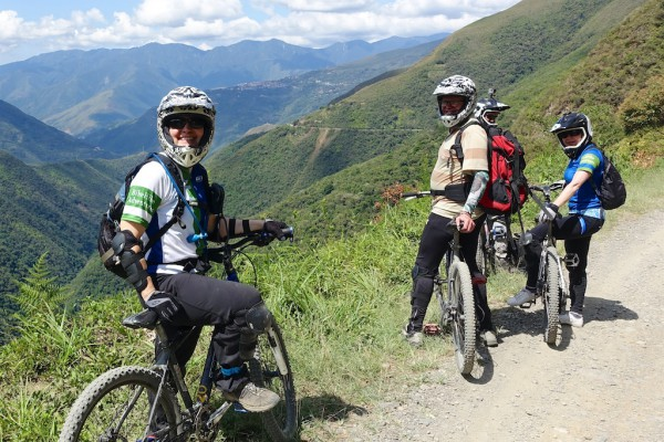 "Biking Bolivia's ""Most Dangerous Road"""