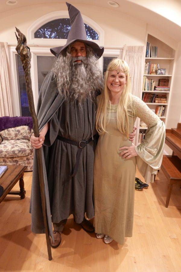 Gandalf and Galadriel