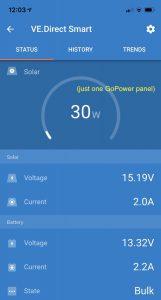 GoPower panel